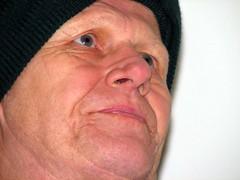 hand(0.0), ear(0.0), human body(0.0), nose(1.0), chin(1.0), face(1.0), facial hair(1.0), skin(1.0), lip(1.0), senior citizen(1.0), head(1.0), cheek(1.0), close-up(1.0), wrinkle(1.0), mouth(1.0), forehead(1.0), person(1.0), portrait(1.0), adult(1.0), eye(1.0), organ(1.0),