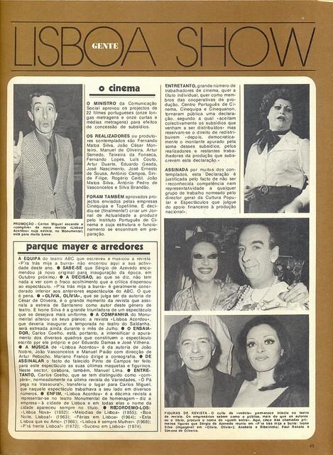 Gente, Nº86, July 1975 - 45