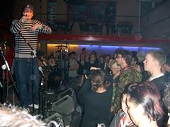 Poet Mat Lloyd at the Jazz Cafe London 2006