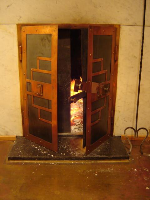 Fireplace, 1930's, Helsinki