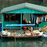 Floating House - Halong Bay, Vietnam