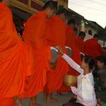 Morning Alms - Luang Prabang, Laos
