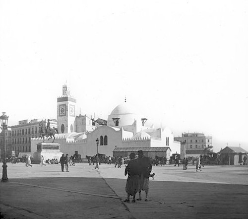 Algiers, Algeria - Mosque & Fishing Place