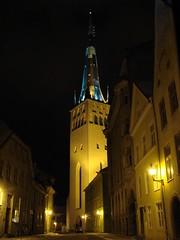 Night in Old Tallinn