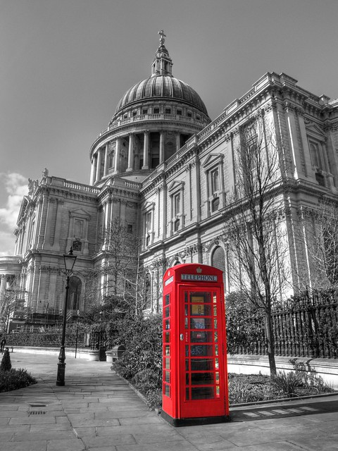 0085 St Pauls Phone Box