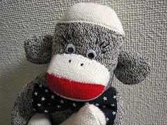 Bow Tie Sock Monkey