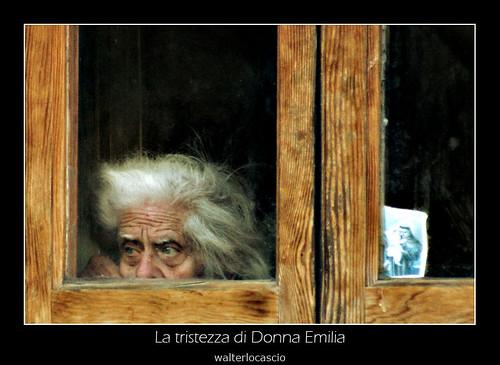 La tristezza di Donna Emilia
