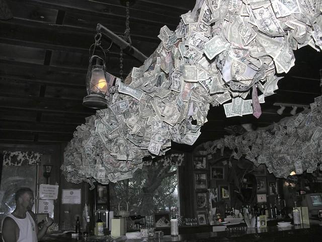 Bar/Lounge Decorations - Dollar Bills   Flickr - Photo Sharing!