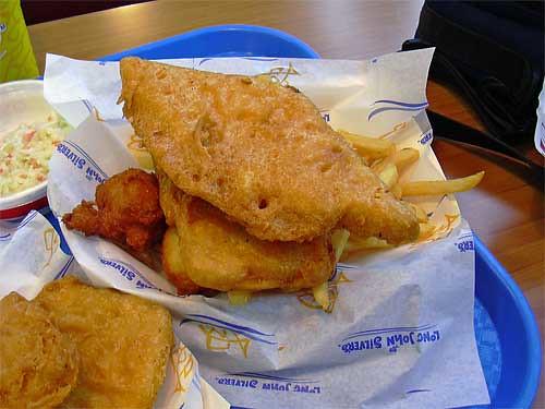 Long John Silver's Fish