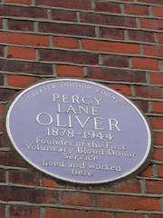 Percy Lane Oliver