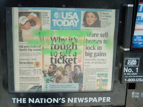 But I Like USA Today....its the Non Newspaper...
