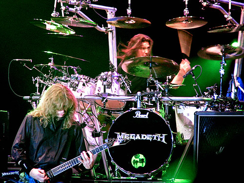 Megadeth live in Bucharest, June 15th, 2005