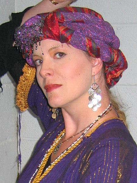 Me as an Ottoman dancer