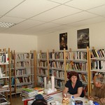 In the Library at Moulismes