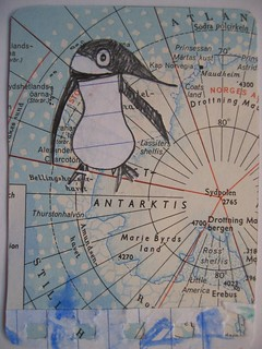 Penguin in Antarktis