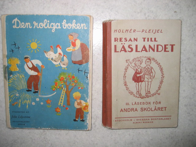 Vintage reading books