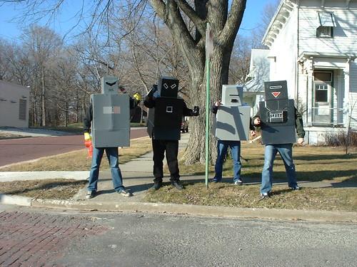 Robot Attack!