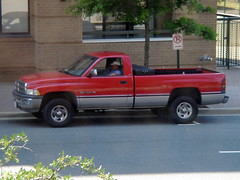 automobile, automotive exterior, pickup truck, vehicle, truck, ram, bumper, land vehicle,
