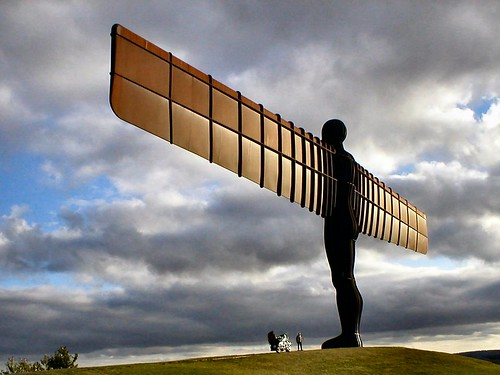 Harley & Angel of the North