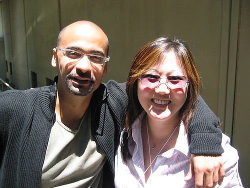 Me and Junot Diaz