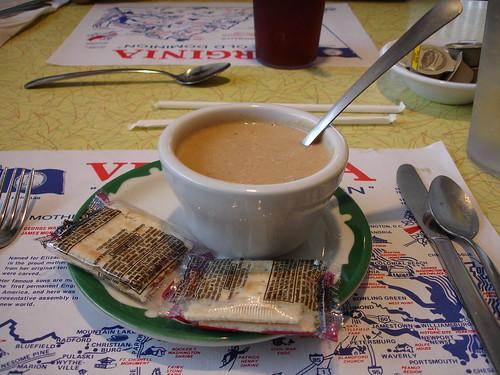 Peanut Soup from Southern Kitchen, New Market VA