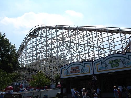 Roller Coaster at HersheyPark, Hershey PA