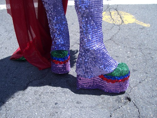 those shoes....