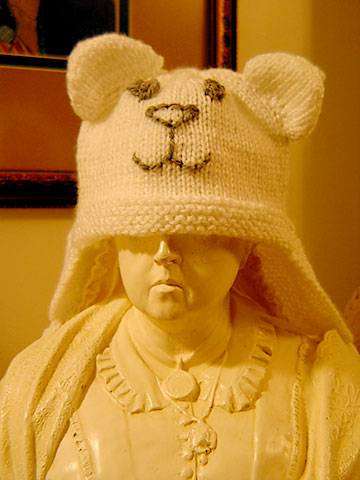 Polar Princess Hat, Completed.