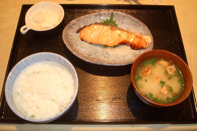 Japanese lunch set