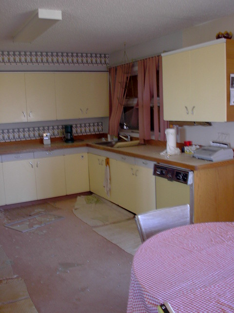 Hilda kitchen damage