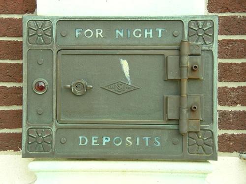 Bank Deposit Drop