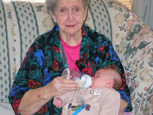 Max and granny