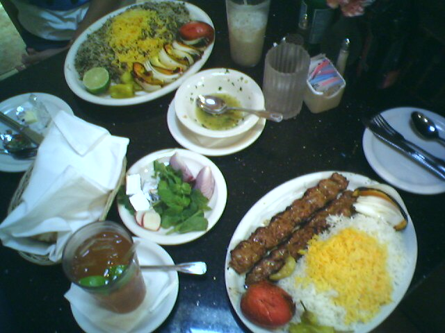 Shamshiri Persian food, West LA