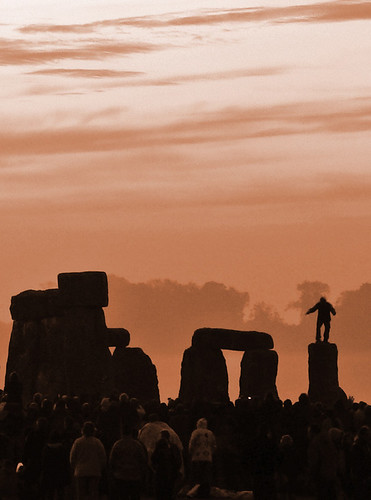 Stone Dancer Greets The Dawn