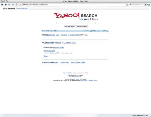 my web beta 2 0: