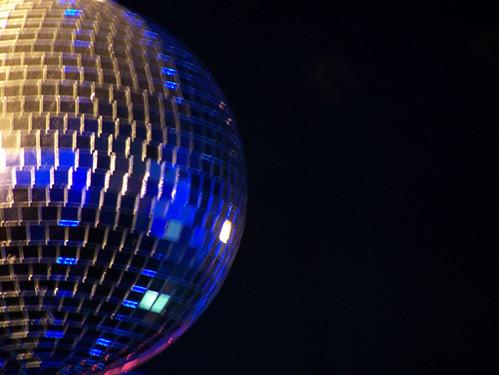 Madrid - bola de discoteca