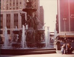 Downtown Cincinnati Fountain, 1980
