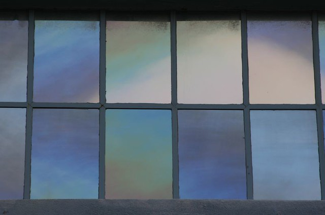 colored windows spectral data
