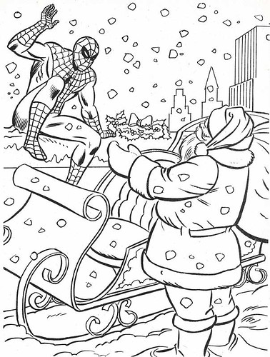 marvel super heroes coloring pages - photo#33