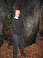 Me, in a tree-den