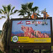 Bear Left Sign Transformed for Brother Bear Opening at Disney's California Adventure
