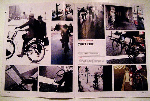 Cycle Chic World Premiere in KBH Magazine