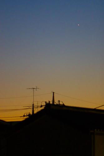 roof sunset sky station silhouette japan geotagged star dusk 日本 tochigi sano シルエット 栃木県 栃木 mrhayata geo:lat=363166028 geo:lon=1395784528
