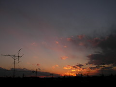 Sunset on Mt. Fuji