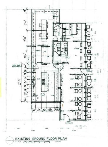d'cafe - floor plan rev#5 renovation proposal