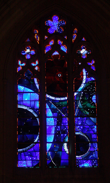 Moon Window At The Washington National Cathedral Flickr
