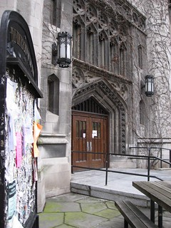 Entry to Cobb Hall