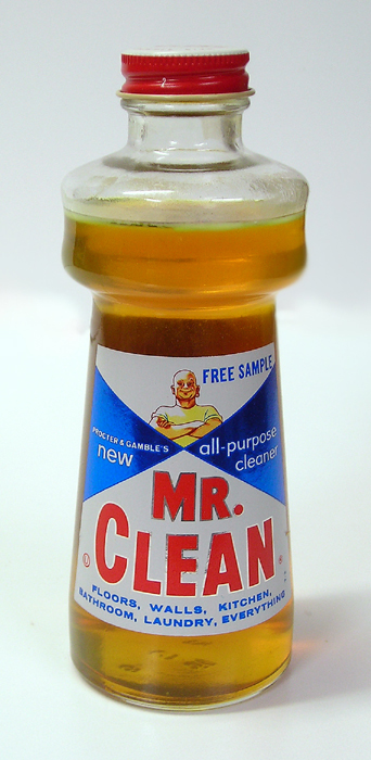 Mr. Clean Sample Bottle, 1958