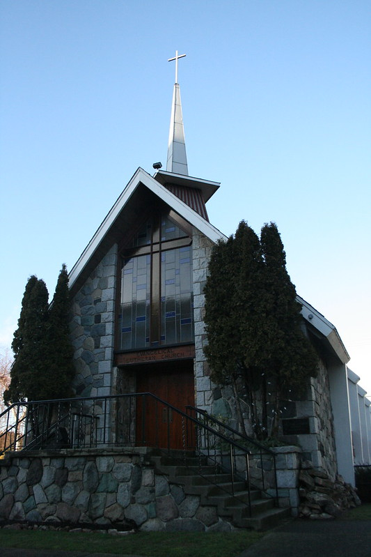 Icelandic Lutheran Church on 41st and Cambie