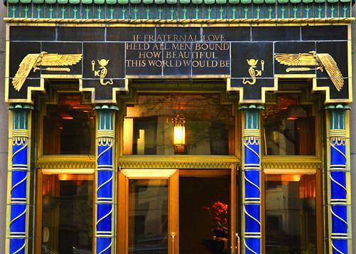 Art Deco Egyptian Revival NYC